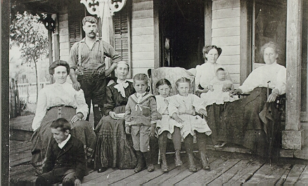 York family ca. 1910